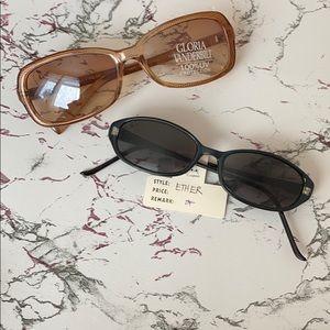2 Pairs of Gloria Vanderbilt Sunglasses
